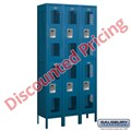 5' High Vented Metal Lockers