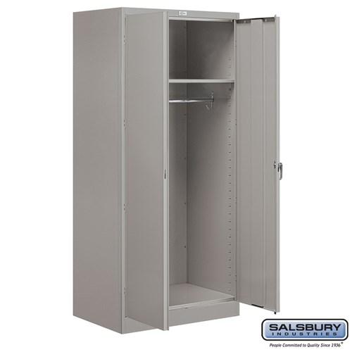 Storage Cabinet Wardrobe 78 Inches, 24 Inch Deep Storage Cabinets