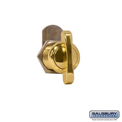 Thumb Latch - for Solid Oak Executive Wood Locker - Gold Finish