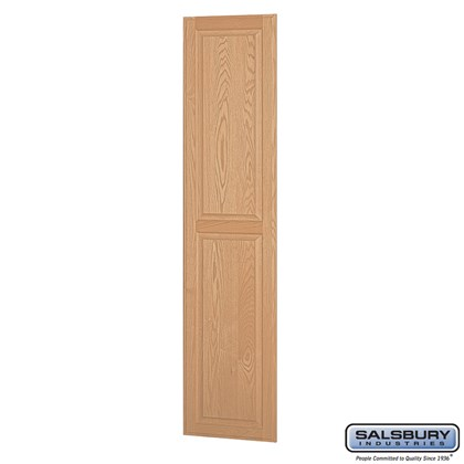 Side Panel - for 18 Inch Deep Solid Oak Executive Wood Locker