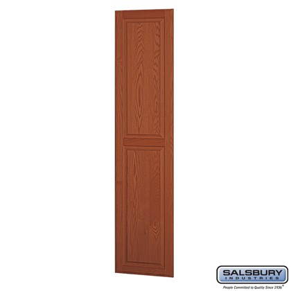 Side Panel - for 18 Inch Deep Solid Oak Executive Wood Locker - Medium Oak
