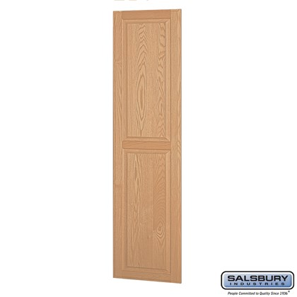 Side Panel - for 21 Inch Deep Solid Oak Executive Wood Locker