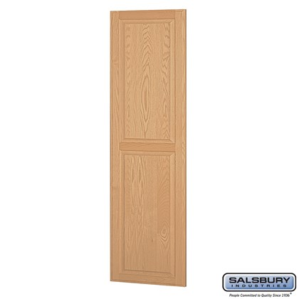 Side Panel - for 24 Inch Deep Solid Oak Executive Wood Locker