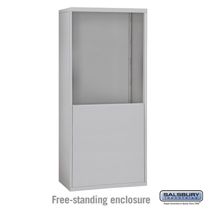 Custom Free-Standing Enclosure for #19065-30, #19068-30, #19165-30 and #19168-30 - Recessed Mounted Cell Phone Lockers