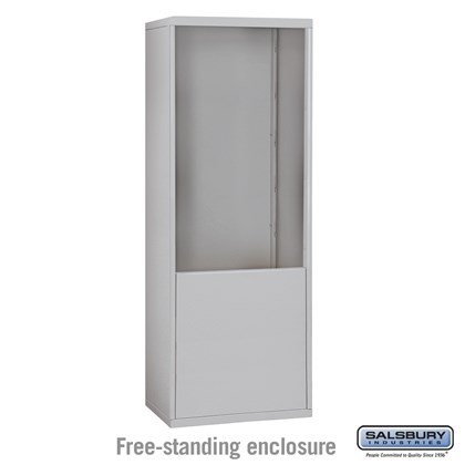 Custom Free-Standing Enclosure for #19075-24, #19078-24, #19175-24 and #19178-24 - Recessed Mounted Cell Phone Lockers