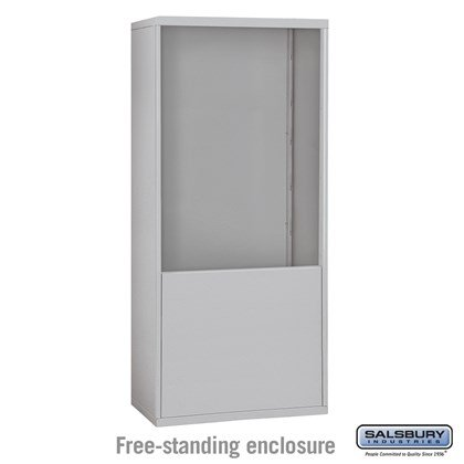 Custom Free-Standing Enclosure for #19075-35, #19078-35, #19175-35 and #19178-35 - Recessed Mounted Cell Phone Lockers