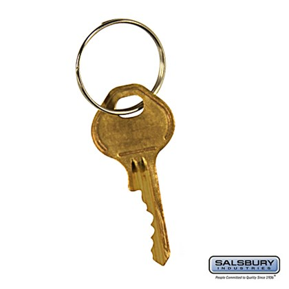 Master Control Key - for Built-in Combination Lock of Open Access Designer Locker and Designer Gear Locker