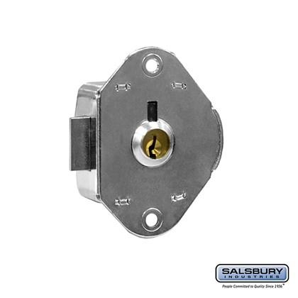 Key Lock - Built-in - for Open Access Designer Locker and Designer Gear Locker Door - with (2) keys