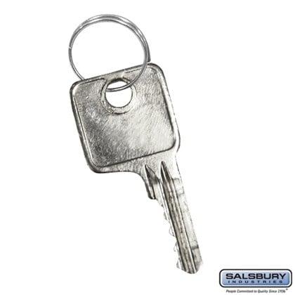 Master Control Key - for Combination Padlock of Heavy Duty Plastic Locker