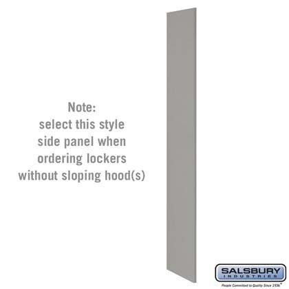 Side Panel - for Heavy Duty Plastic Locker - without Sloping Hood
