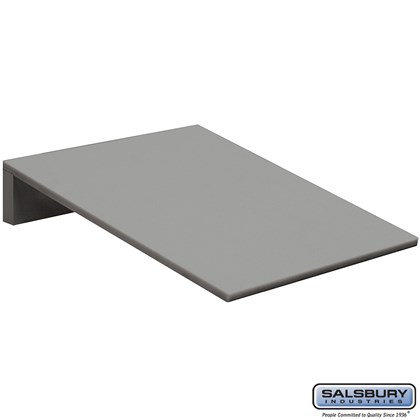 Sloping Hood - 15 Inches Wide - for Heavy Duty Plastic Locker - 1 Wide