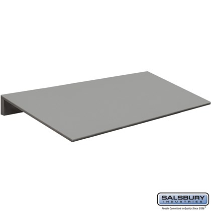Sloping Hood - 15 Inches Wide - for Heavy Duty Plastic Locker - 3 Wide