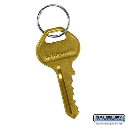 Master Control Key - for Built-in Key Lock of Metal Locker