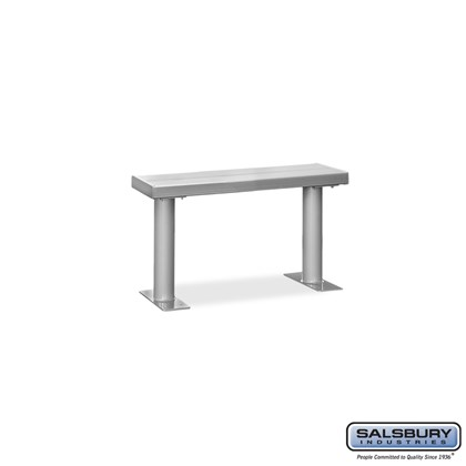 Aluminum Locker Bench