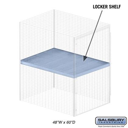 Shelf - for Bulk Storage Locker - 48 Inches Wide - 60 Inches Deep