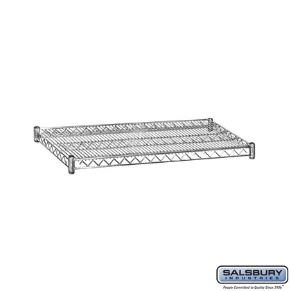 Additional Shelf - for Wire Shelving - 36 Inches Wide - 18 Inches Deep - Chrome